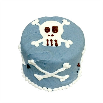 BLUE SKULL BABY DOG CAKE, Treats - Bones Bizzness