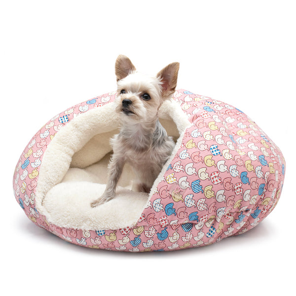 PINK ELEPHANT BURGER DOG BED, Beds - Bones Bizzness