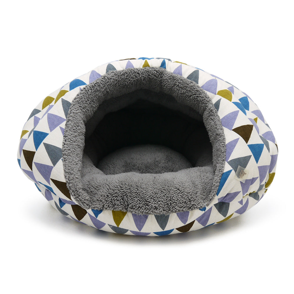 TRIANGLES BURGER DOG BED