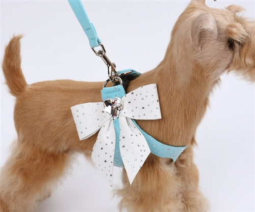 TIFFI'S GIFT HEART BOW STEP-IN HARNESS, Harness - Bones Bizzness