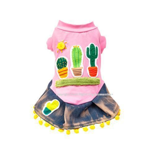 CACTUS DOG DRESS
