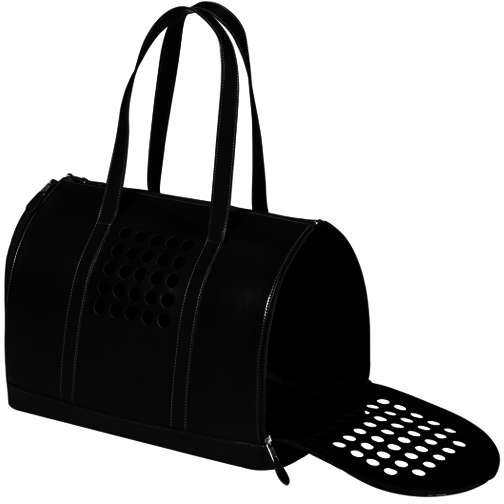 BARK n BAG BLACK DOG CARRIER, Carriers - Bones Bizzness