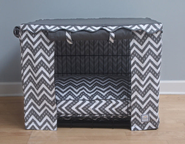 FAIR ISLE DOG CRATE COVER, Crate Cover - Bones Bizzness