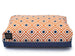 RHOMBUS DOG BED – CREAMSICLE, Beds - Bones Bizzness