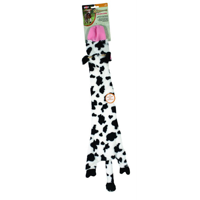 SPOT MINI SKINNEEEZ EXOTIC SERIES COW 14' AND 24', Toys - Bones Bizzness