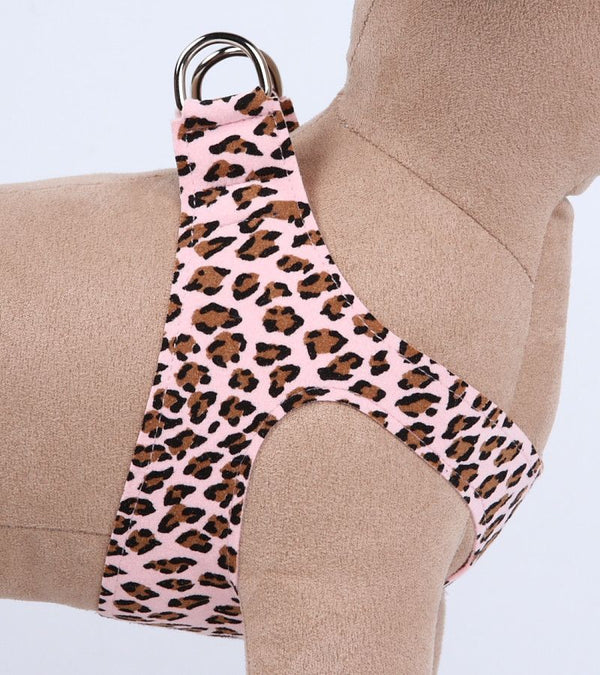 PINK CHEETAH COUTURE STEP-IN DOG HARNESS - (4 COLORS), Harness - Bones Bizzness