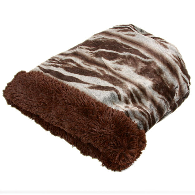 CUDDLE CUP DOG BED - KOALA DARK SHAG, Beds - Bones Bizzness
