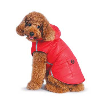 DASHING DOG PARKA RED, Coats - Bones Bizzness