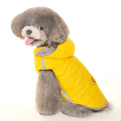 DASHING DOG PARKA YELLOW, Coats - Bones Bizzness