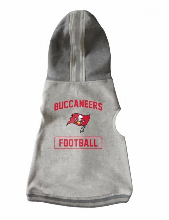 TAMPA BAY BUCCANEERS PET HOODED CREWNECK, NFL Jerseys - Bones Bizzness