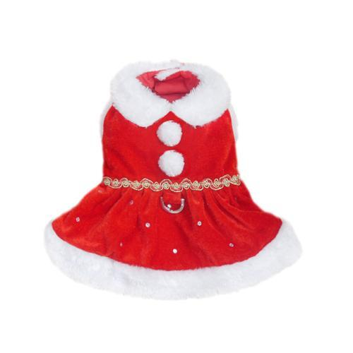 DEAR SANTA HOLIDAY DOG DRESS