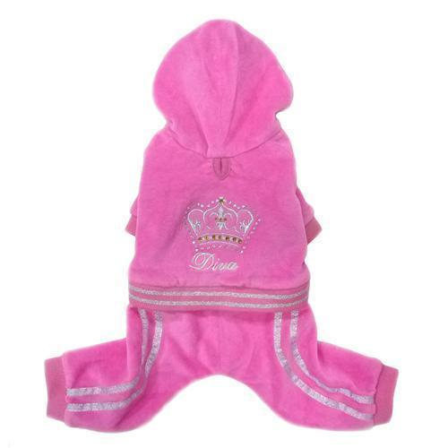 DIVA DOG PLUSH JUMPER