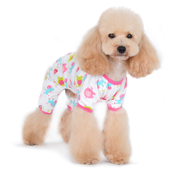 ZOO PINK DOG PJ'S, Pajamas - Bones Bizzness