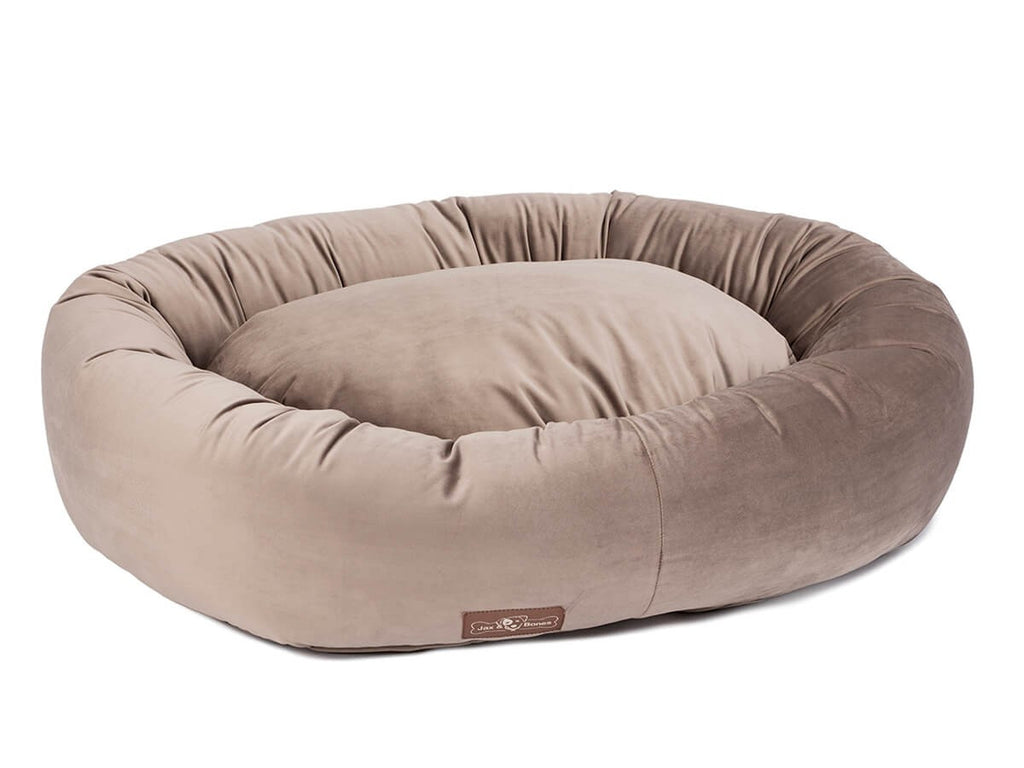 OAK VINTAGE DONUT DOG BED, Beds - Bones Bizzness