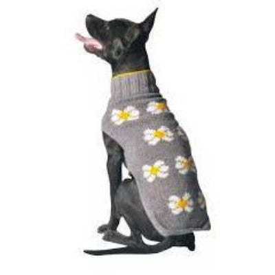 DAISY FLOWER DOG SWEATER - Bones Bizzness