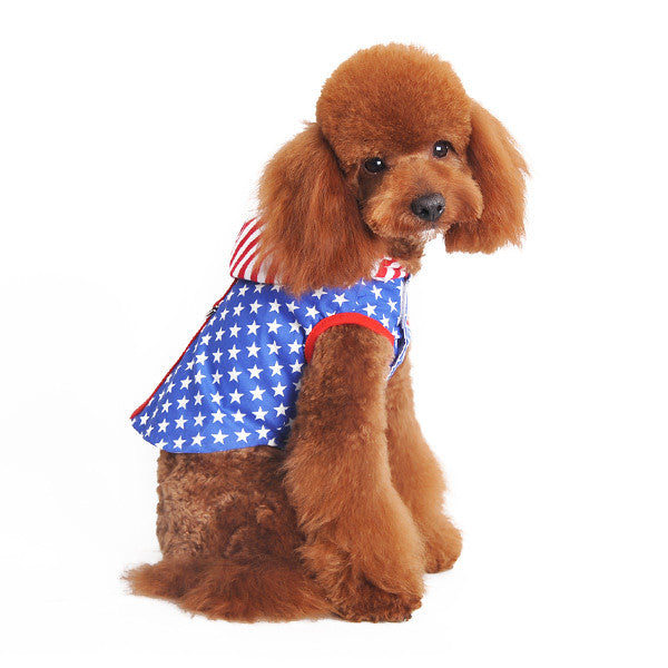 EASY-D USA HOODIE DOG HARNESS, Shirts Tanks & Tees - Bones Bizzness