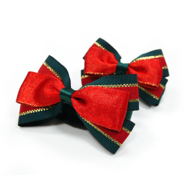 CHRISTMAS EASYBOW DOG BOW 3, ACCESSORIES - Bones Bizzness