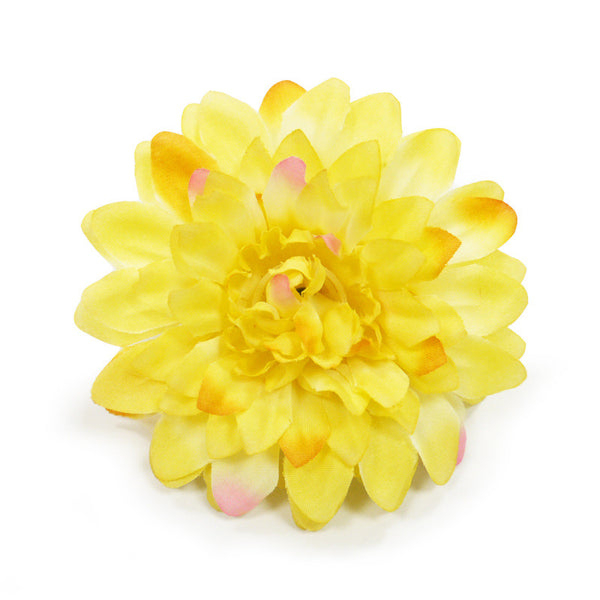YELLOW FLOWER DOG EASYBOW  10, ACCESSORIES - Bones Bizzness