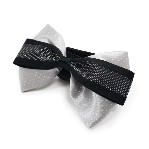 GENTLEMAN BOWTIE 10 GRAY, ACCESSORIES - Bones Bizzness