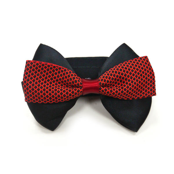 RED GENTLEMAN DOG EASYBOW  5, ACCESSORIES - Bones Bizzness