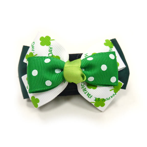 ST. PATRICK DOG EASYBOW  2, ACCESSORIES - Bones Bizzness