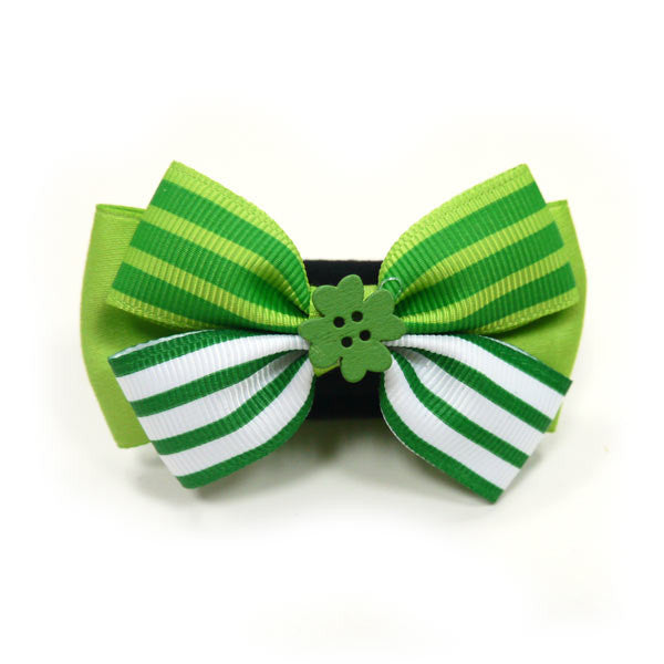 ST. PATRICK DOG EASYBOW  1, ACCESSORIES - Bones Bizzness