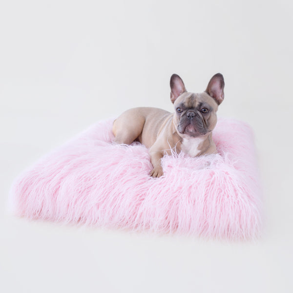 THE HIMALAYAN YAK DOG MAT - PINK