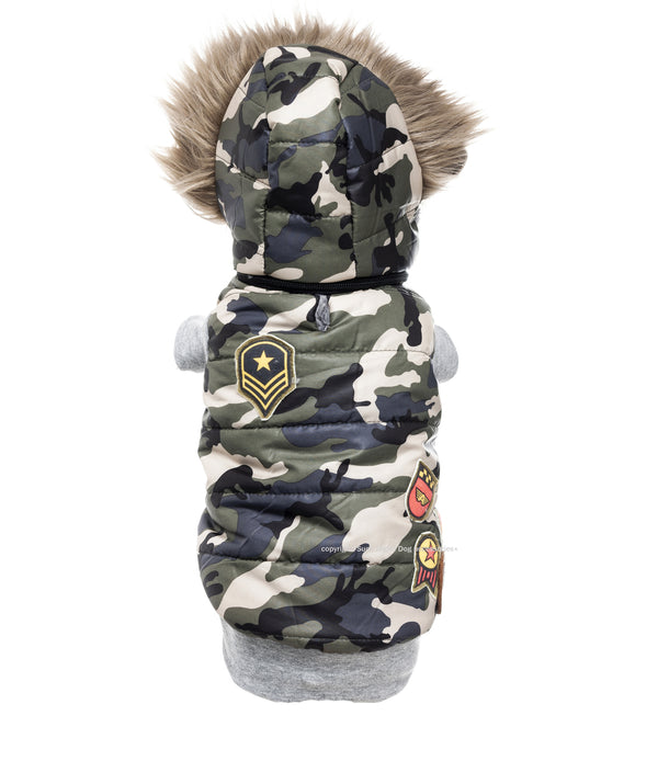 FORT KNOX WEST DOG COAT
