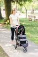 REGAL PLUS PET STROLLER - RASPBERRY, STROLLERS - Bones Bizzness