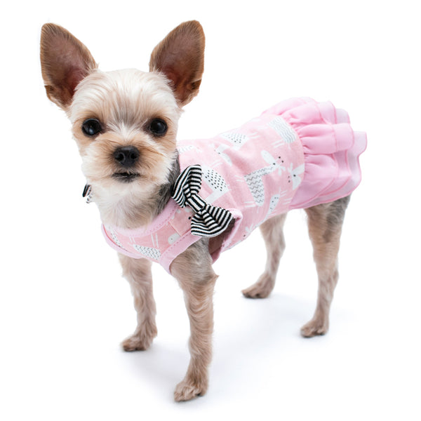 GIRAFFE DOG DRESS