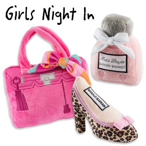 GIRLS NIGHT OUT DOG TOY BUNDLE