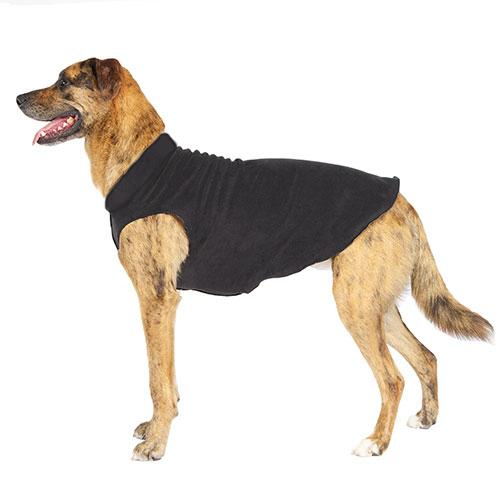 BLACK/BLACK DULUTH DOUBLE FLEECE DOG SWEATER, Sweaters - Bones Bizzness
