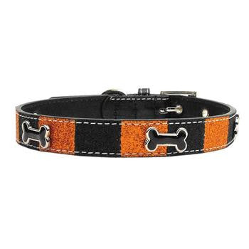 HALLOWEEN ICE CREAM DOG COLLAR, Collars - Bones Bizzness