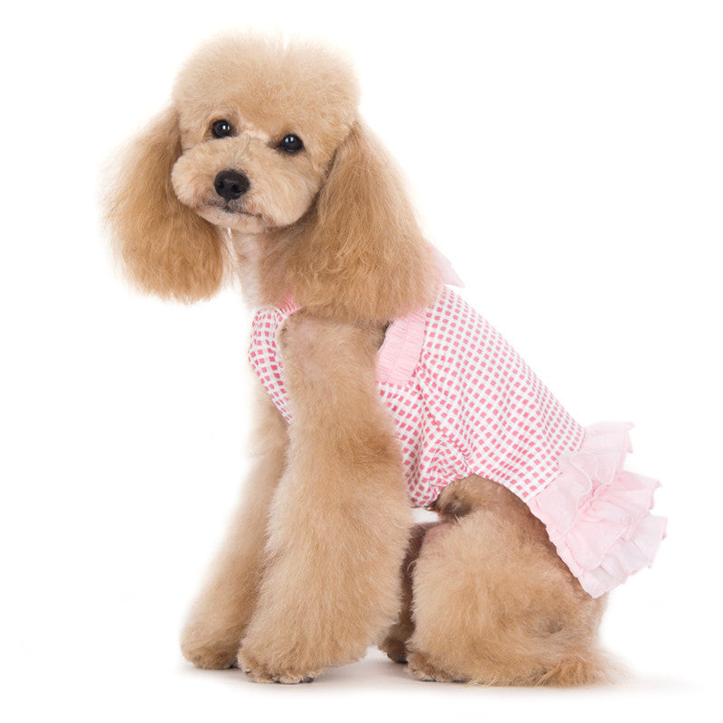HALTER WOVEN DOG DRESS, Dress - Bones Bizzness