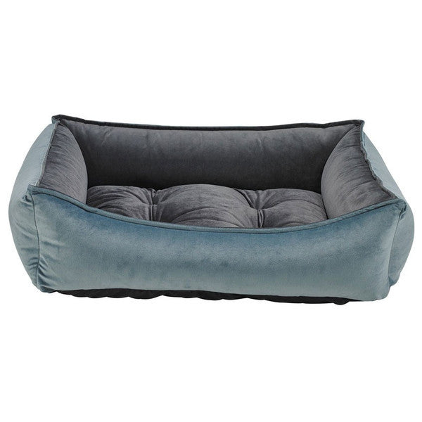 HARBOUR BLUE SCOOP DOG BED, Beds - Bones Bizzness