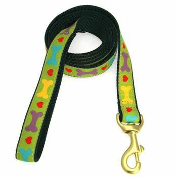 HEART AND BONE DOG LEASH, Leash - Bones Bizzness