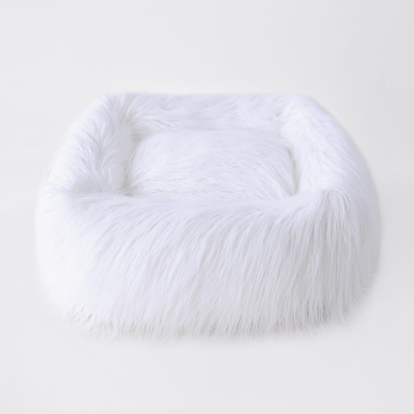 THE HIMALAYAN DOG BED - WHITE