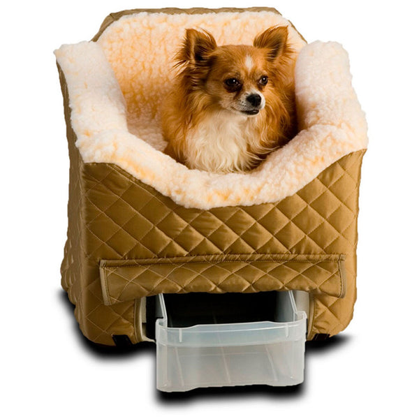 MEDIUM LOOKOUT II PET CAR SEAT WITH STORAGE TRAY, CAR SEATS & COVERS - Bones Bizzness