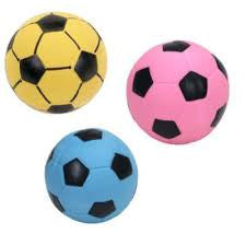 COASTAL RASCALS LATEX DOG TOY SOCCER BALL, Toys - Bones Bizzness