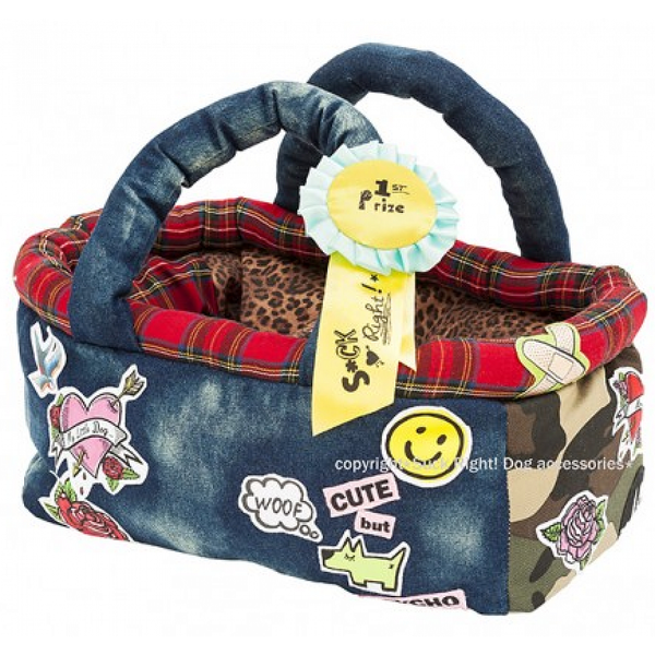 1st PRIZE CAMOUFLAGE JEANS BAG DOG CARRIER