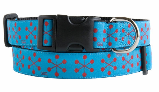 JACKSON BLUE DOG COLLAR, Collars - Bones Bizzness