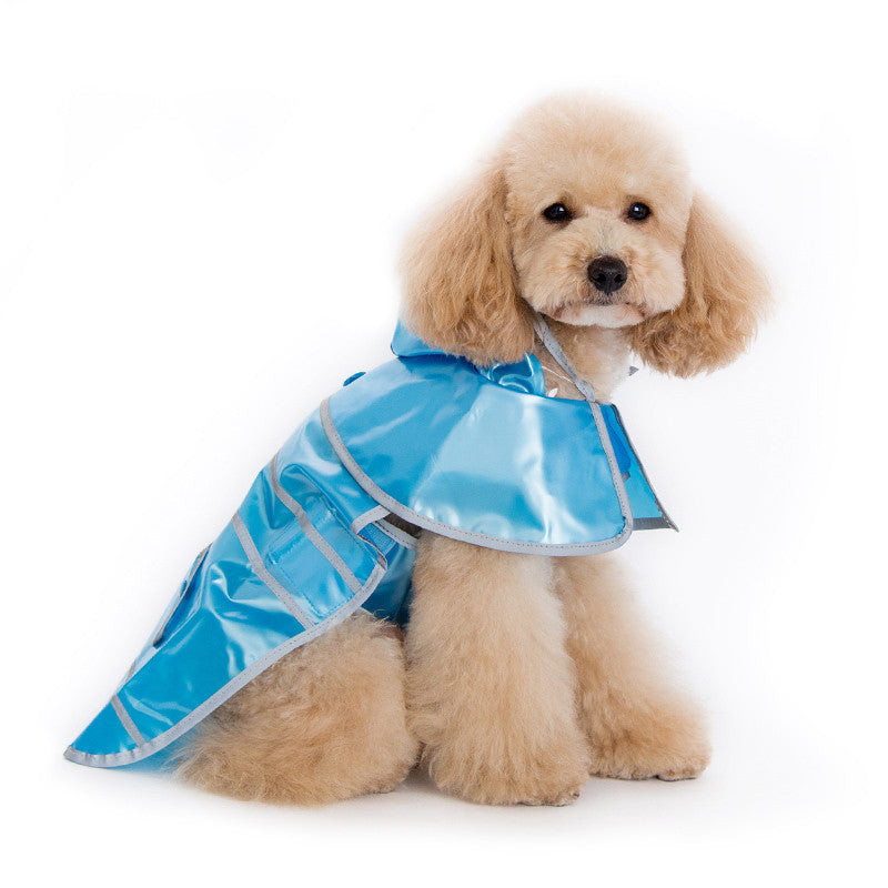 JELLY BLUE DOG RAINCOAT, Raincoat - Bones Bizzness