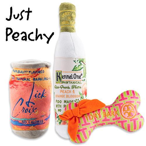 JUST PEACHY DOG TOY BUNDLE