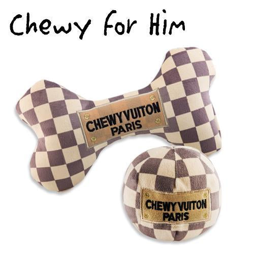 CHEWY FOR HIM DOG TOY BUNDLE