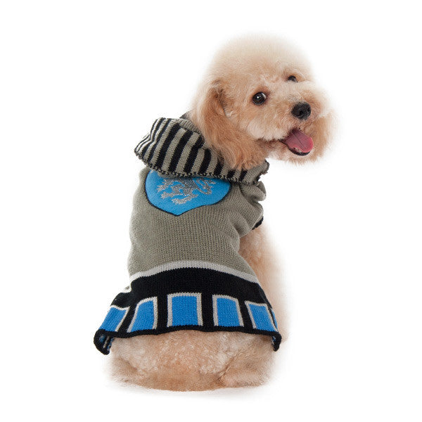KNIGHT IN ARMOUR DOG SWEATER, Sweaters - Bones Bizzness