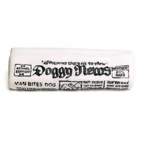SPOT NEWSPAPER ETHICAL PRODUCTS WITH SQUEAKER DOG TOY, Toys - Bones Bizzness