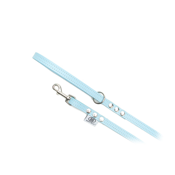 BUDDY BELTS LEASH BLUE