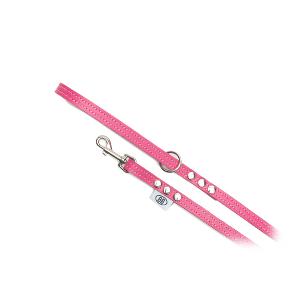 BUDDY BELTS LEASH - HOT PINK