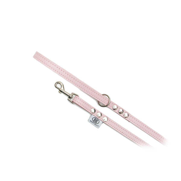 BUDDY BELTS LEASH PINK