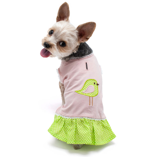 LADY BIRDY DOG DRESS